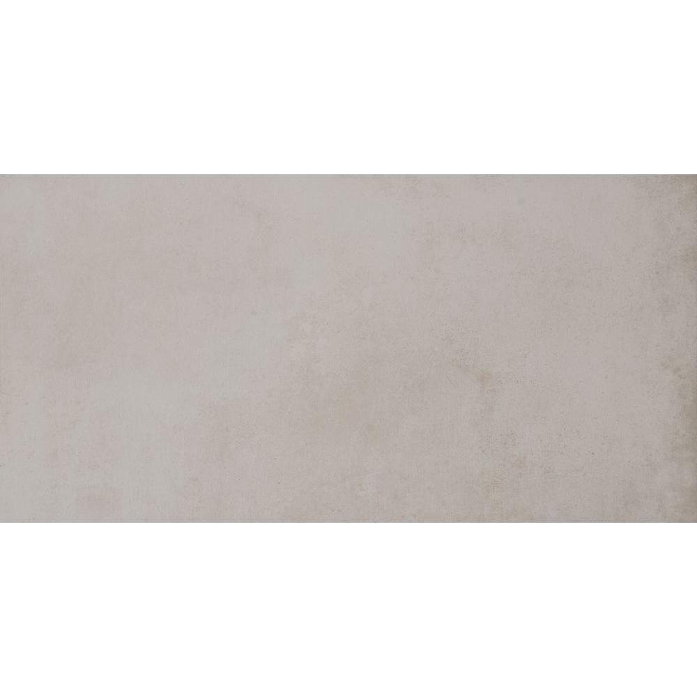 Cotto Grigio 12 in. x 24 in. Glazed Porcelain Floor and