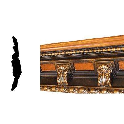 22917 5-1/4 in. x 5-1/4 in. x 94-1/2 in. Polyurethane Hand Painted Crown Moulding