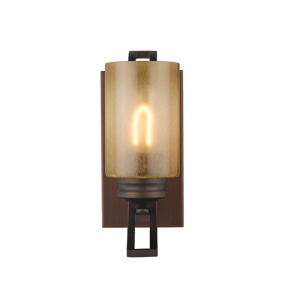 Hidalgo Collection 1-Light Sovereign Bronze Sconce