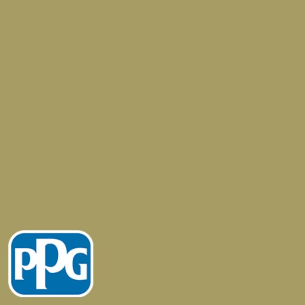 8 oz. #HDPPGG08 Spanish Olive Flat Interior/Exterior Paint Sample