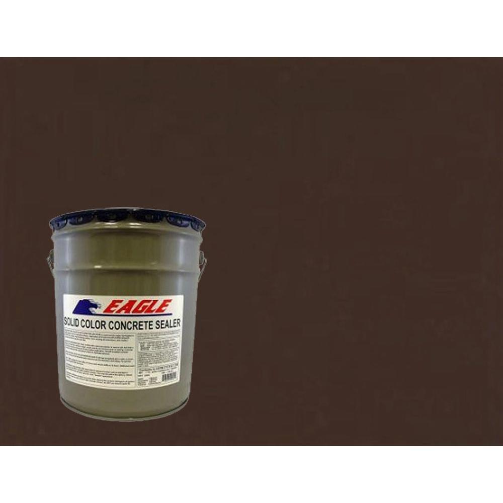 5 gal. Cabernet Brown Solid Color Solvent Based Concrete Sealer