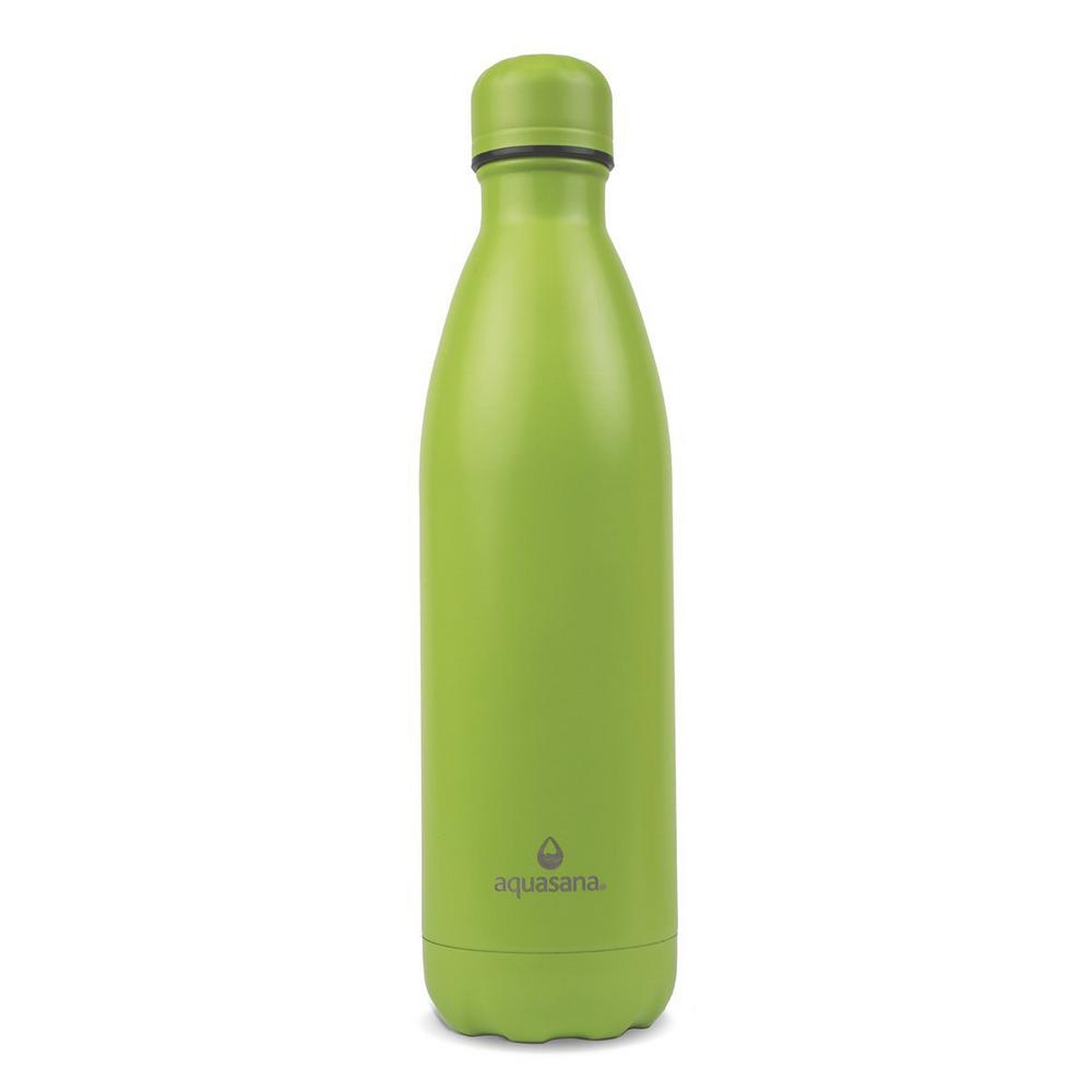 Green Vacuum Insulated Stainless Steel Water Bottle