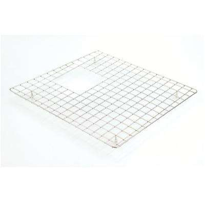 15.5 in. D x 19.5 in. W Sink Grid for GTDW3322 Left-Bowl in Stainless Steel
