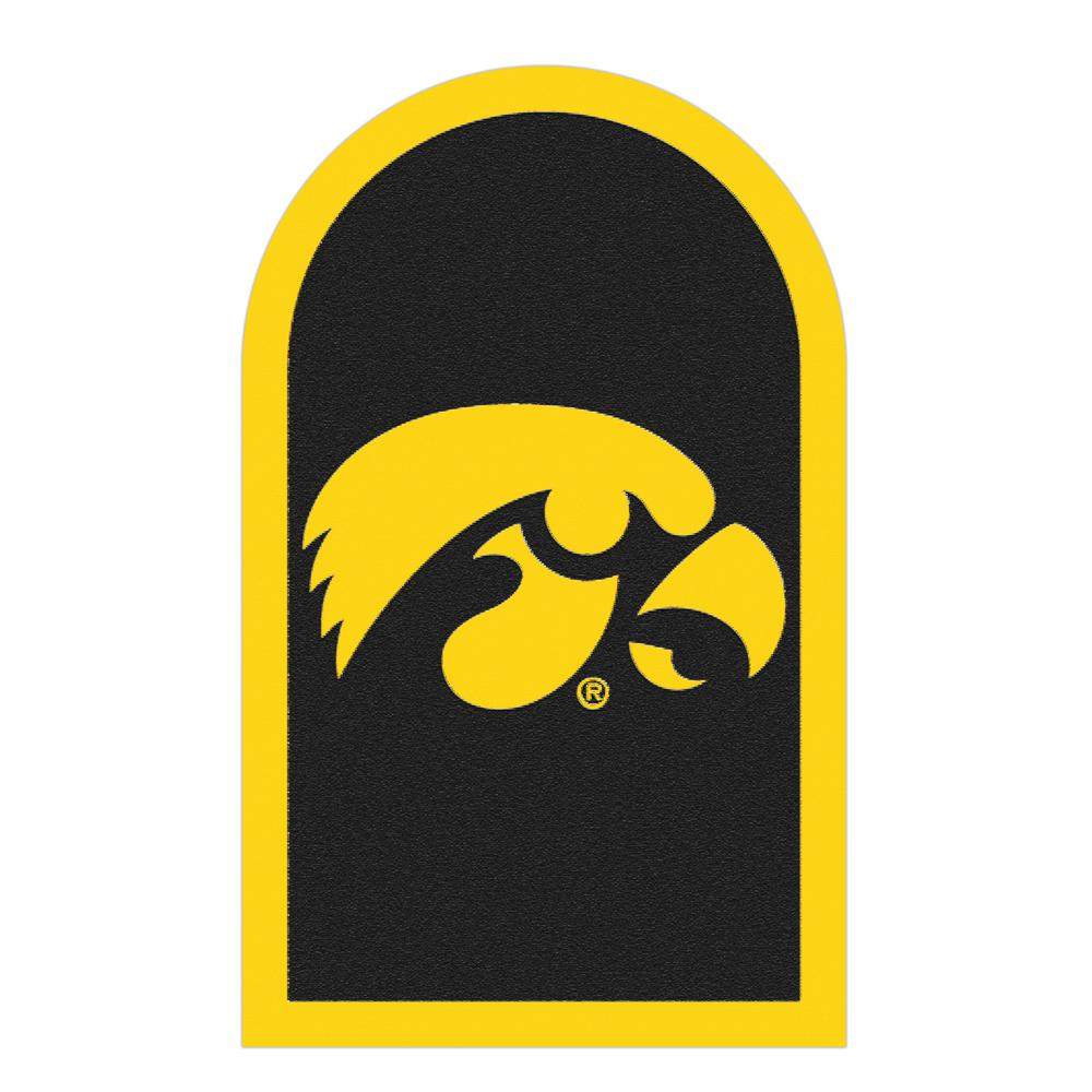 NCAA Iowa Hawkeyes Mailbox Door Logo Graphic