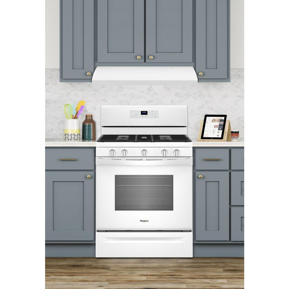 30 In Under Cabinet Range Hood In White Uxt2030adw The Home Depot