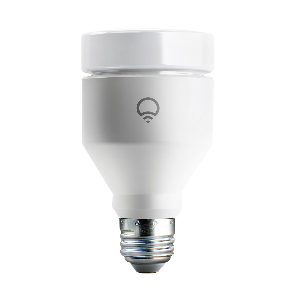 Lifx 75w Equivalent A19 Multi Color Dimmable Wi Fi Smart Led Light Bulb Lha19e26uc10 The Home