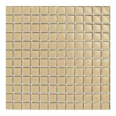 Maracas Morning Sun 12 in. x 12 in. 8mm Glass Mesh Mounted Mosaic Tile