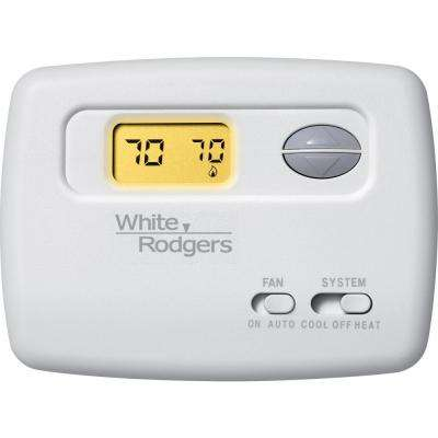 70 Series Non-Programmable Single Stage Thermostat
