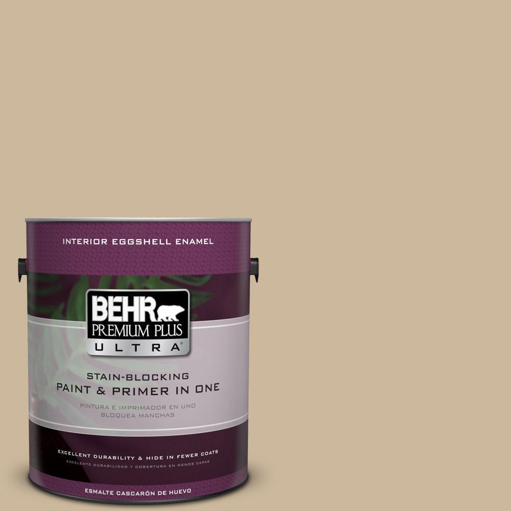 BEHR Premium Plus Ultra 1-gal. #BXC-80 Wildwood Eggshell Enamel Interior Paint