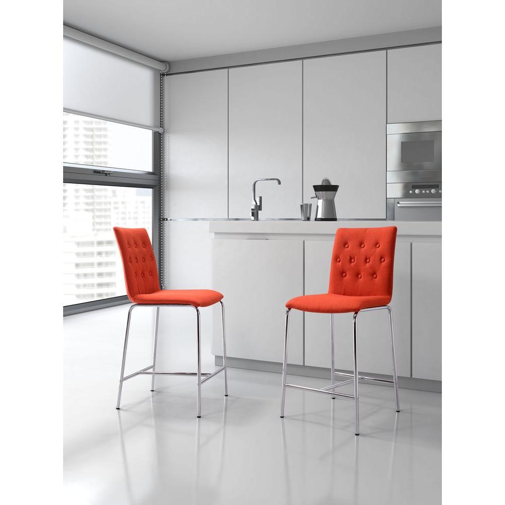 Strange Uppsala 24 In Graphite Cushioned Bar Stool Set Of 2 Creativecarmelina Interior Chair Design Creativecarmelinacom