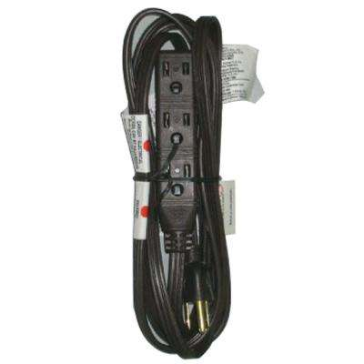 8 ft. 16/3 Banana Tap Extension Cord