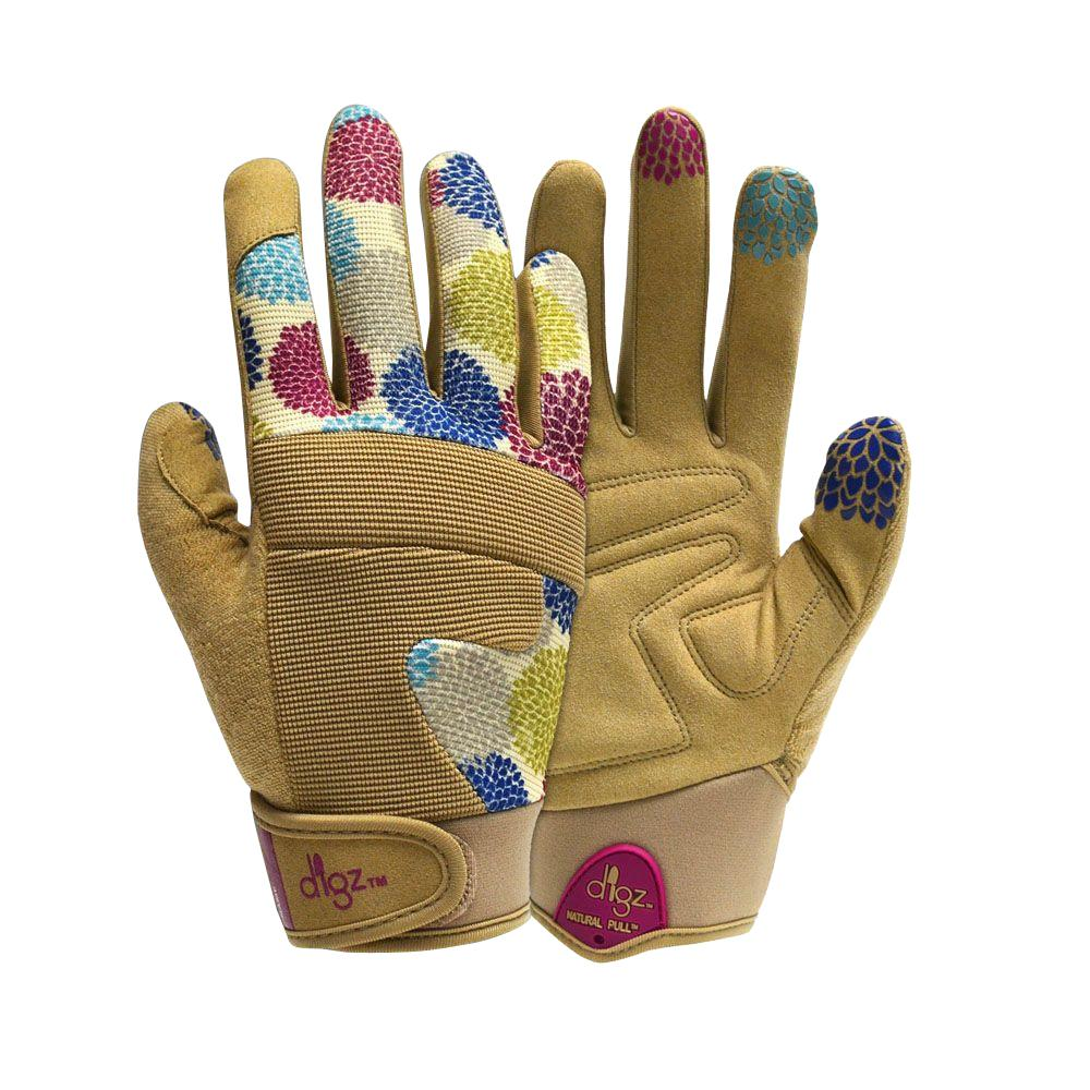 Digz Women Medium/Large Gloves for Gardener-7206-010 - The Home Depot
