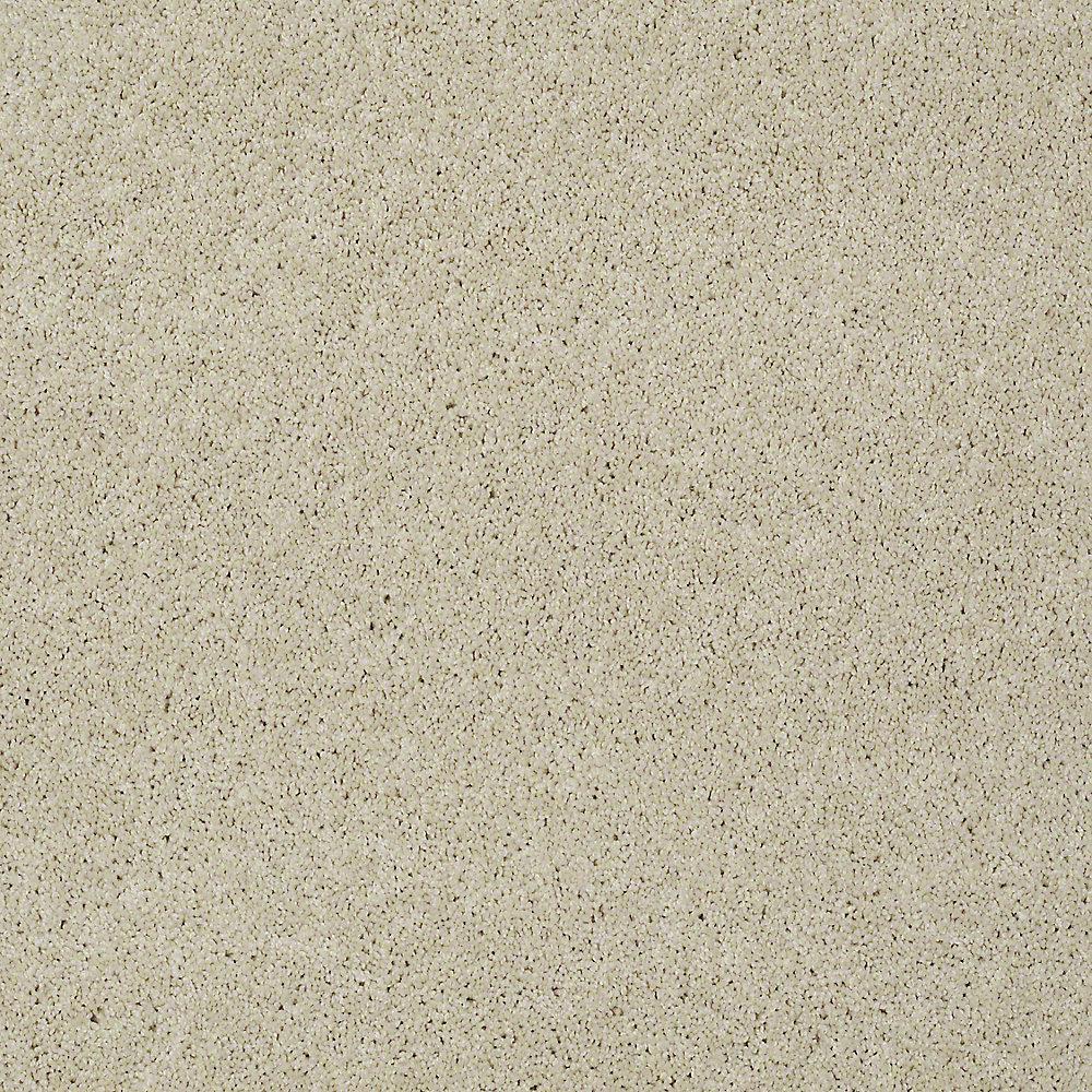 Carpet Sample - Seascape II - Color Dairy Cream 8 in. x 8 in.
