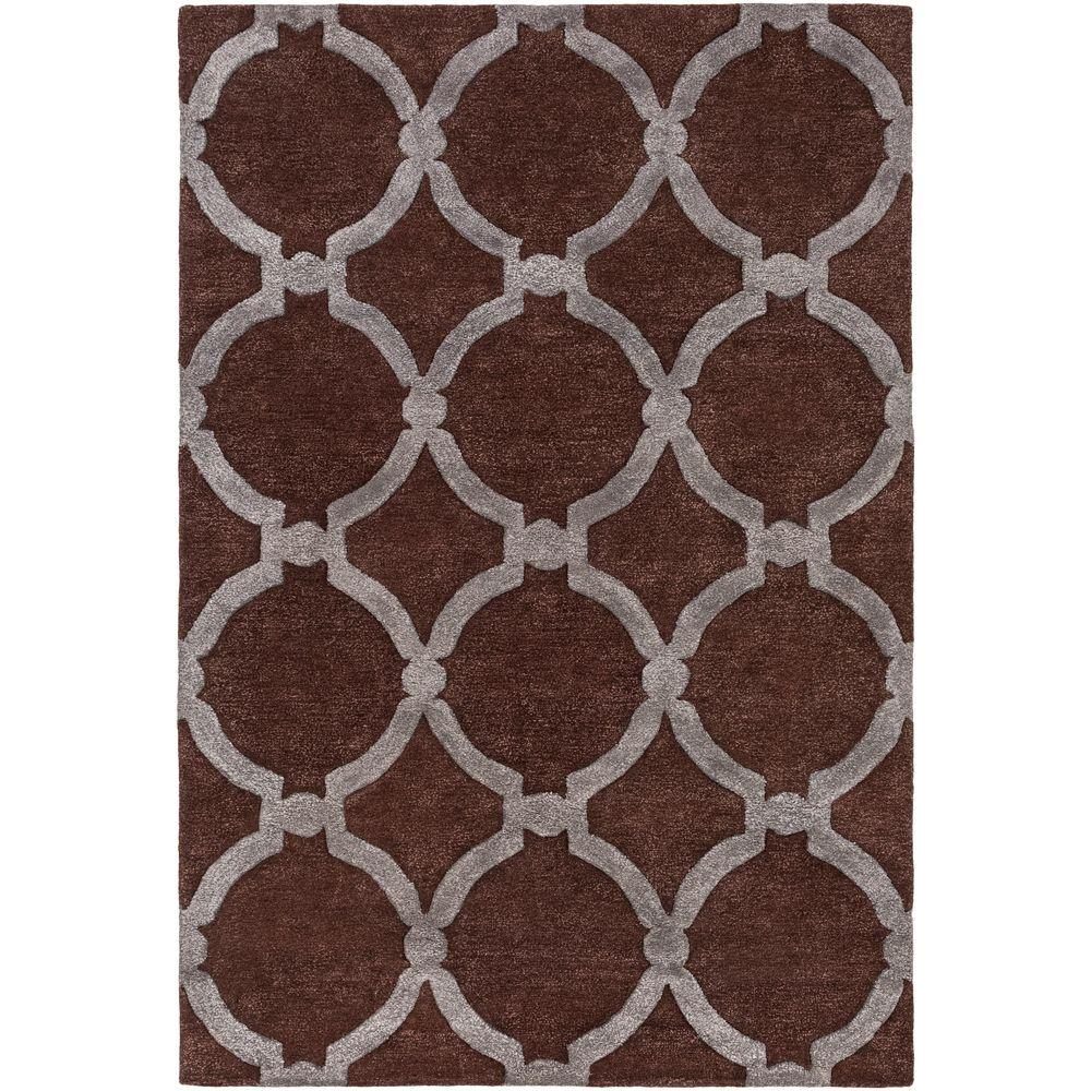 Urban Lainey Brown 8 ft. x 11 ft. Indoor Area Rug