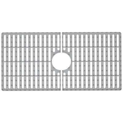 29.5 in. x 14.56 in. Kitchen Sink Silicon Bottom Grid for Single Basin 33 in. Sink
