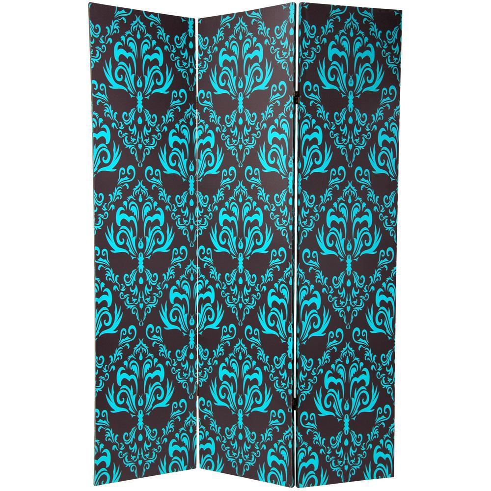 Oriental Furniture 6 ft. Printed 3-Panel Room Divider CAN-PAT3