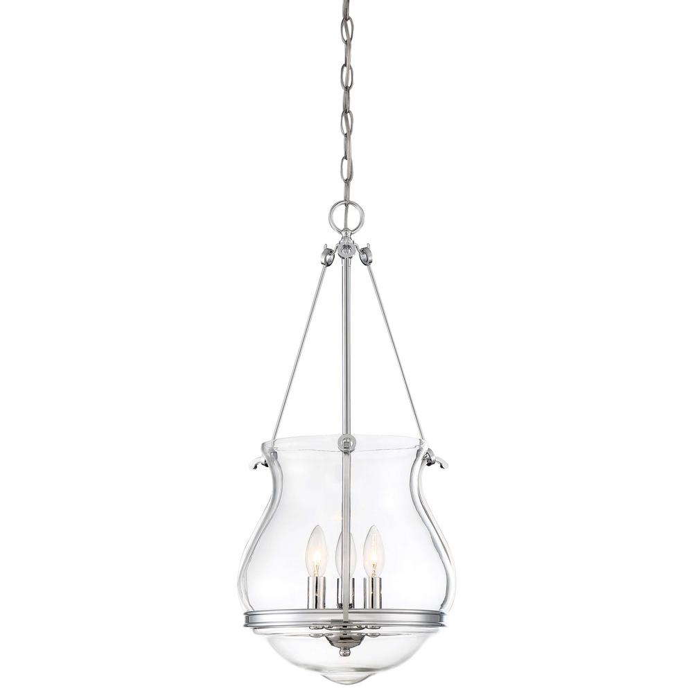 Minka Lavery Atrio 3-Light Chrome Pendant