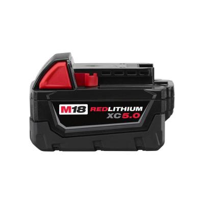 M18 18-Volt Lithium-Ion XC Extended Capacity 5.0Ah Battery Pack