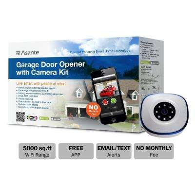 Garage Door Opener with Camera Kit (Live Streaming)
