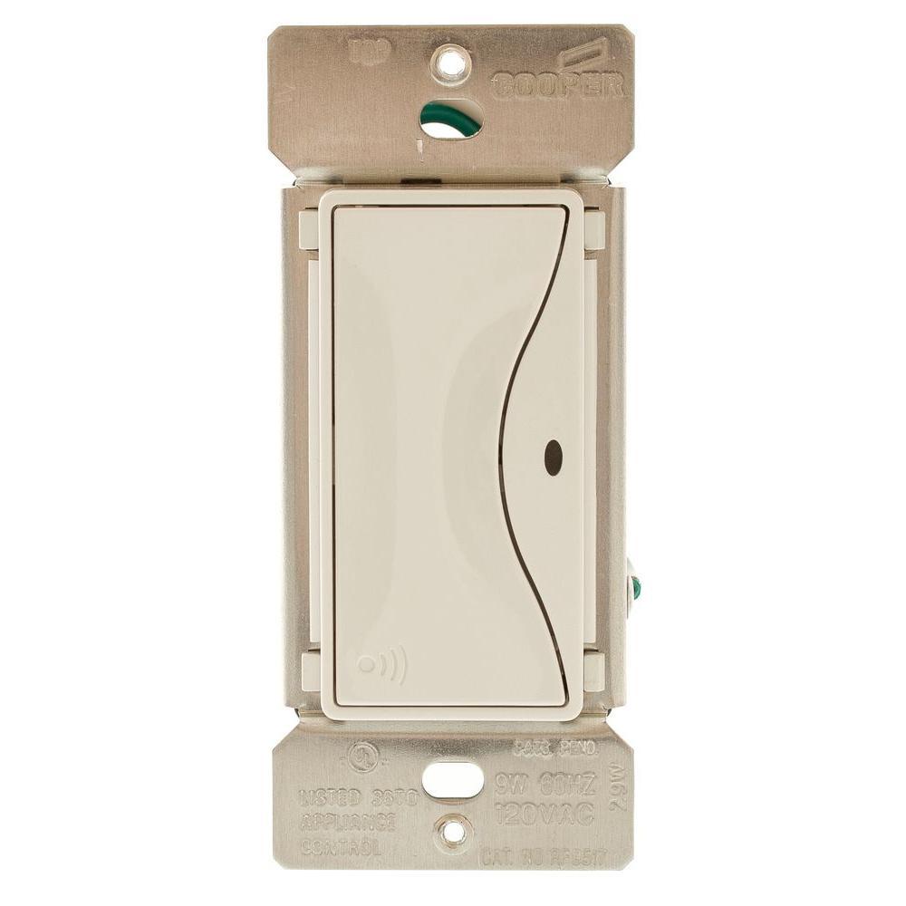 Aspire RF Accessory Switch for RF9501 Wireless Light Switches, Alpine White