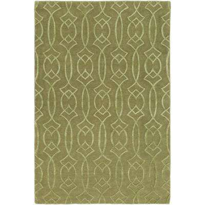 Boudicca Green 2 ft. x 3 ft. Area Rug