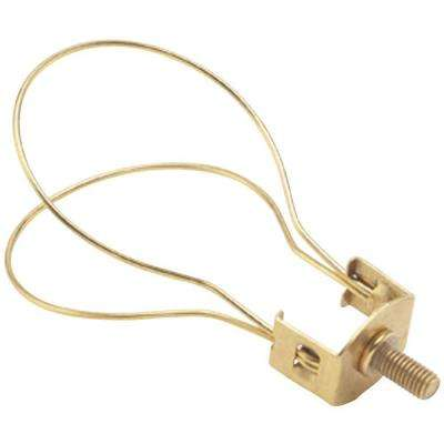 Brass Finish Clip-On Lamp Adapter
