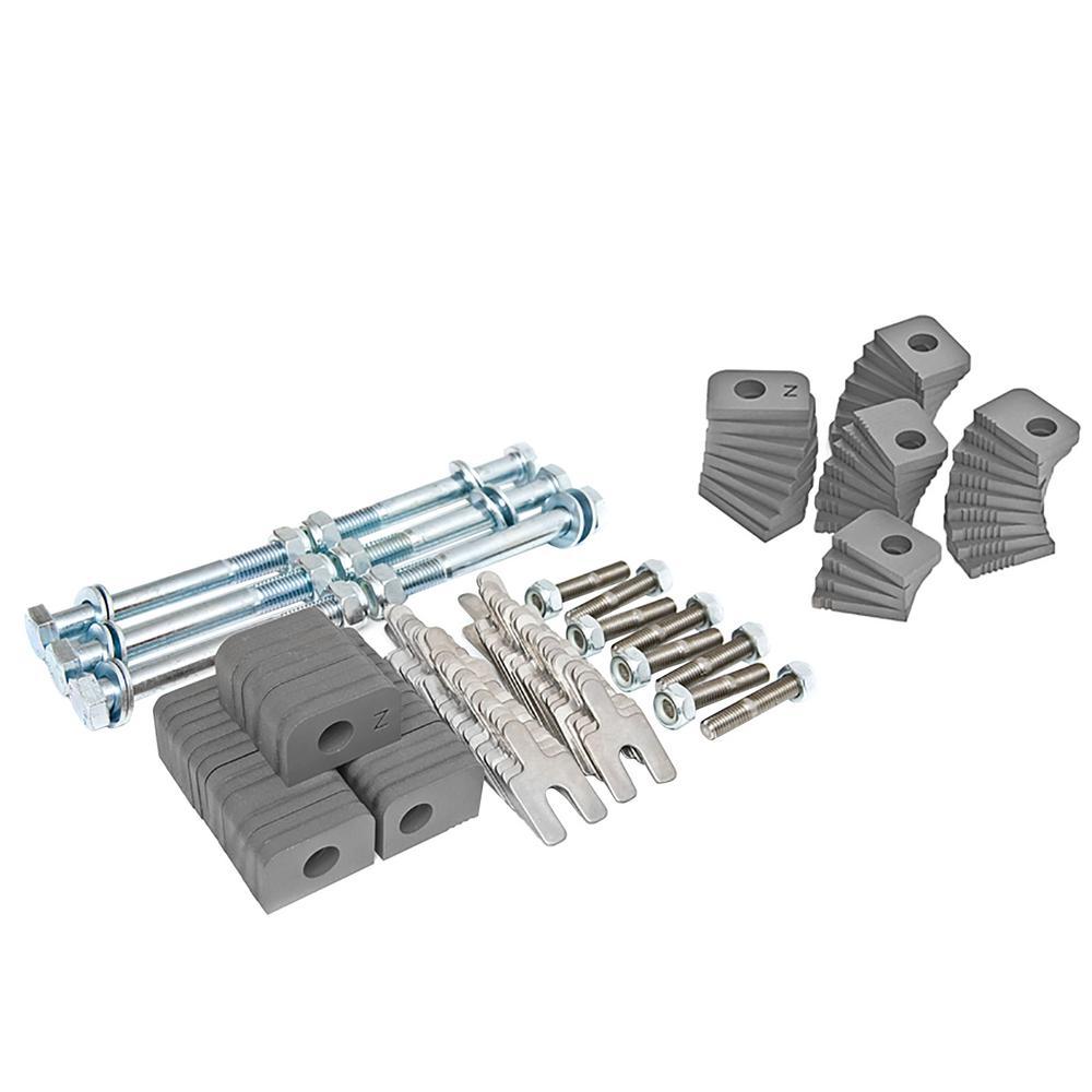 Control PFADT Series Steel Frame Camber Kit; Chevrolet Corvette (C5/C6) 97-13