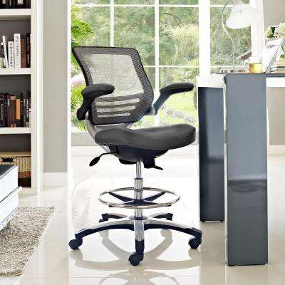 Edge Drafting Stool in Gray