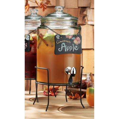 Del Sol 1.5 Gal. Chalkboard Dispenser on Stand
