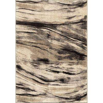 Brushed Bristol Multi 5 ft. 3 in. x 7 ft. 6 in. Abstract Indoor Area Rug