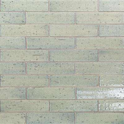 Rhythmic Thunder 2 in. x 9 in. 12mm Glazed Clay Subway Tile (30-piece 4.63 sq. ft. / box)