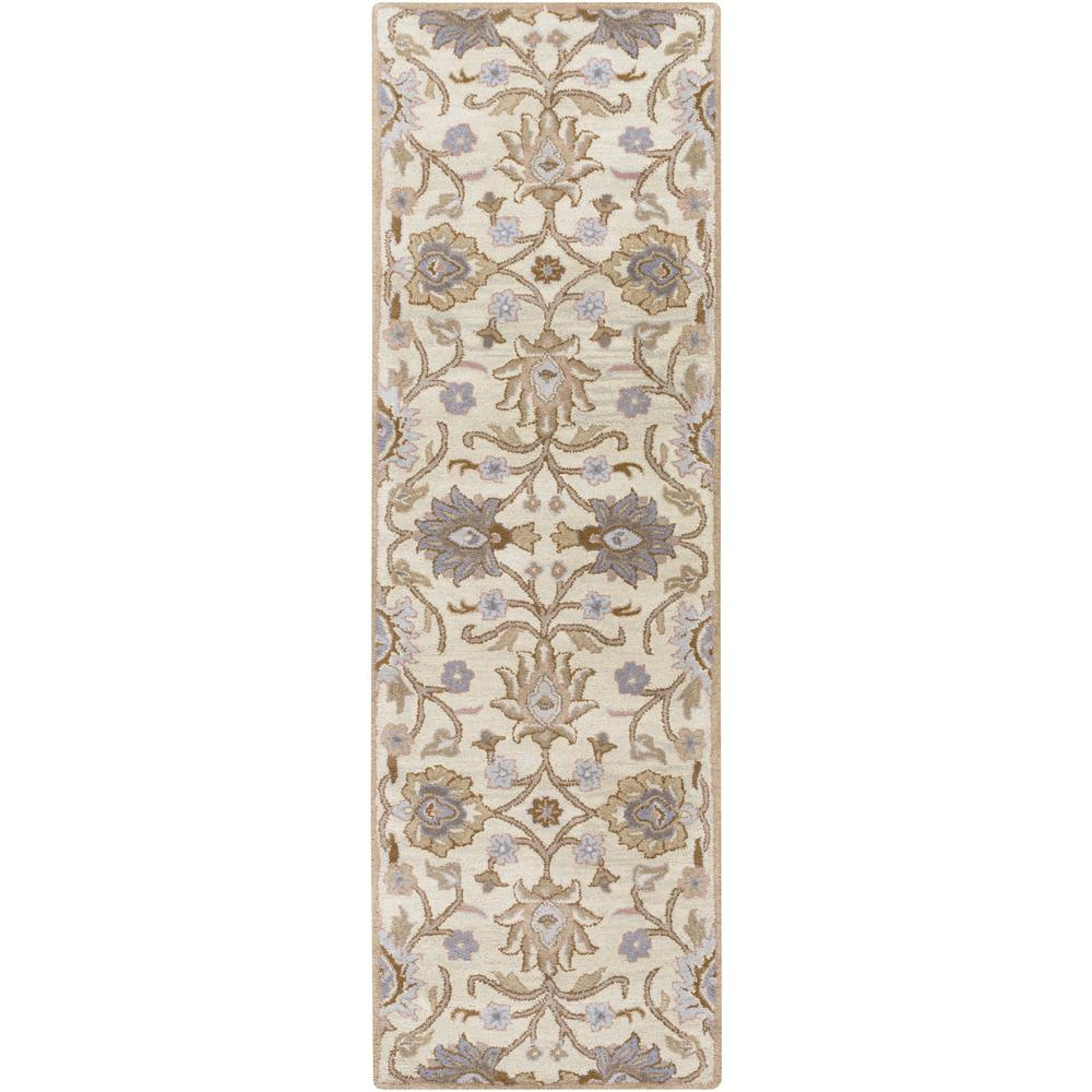 Cambrai Ivory 3 ft. x 8 ft. Indoor Runner Rug