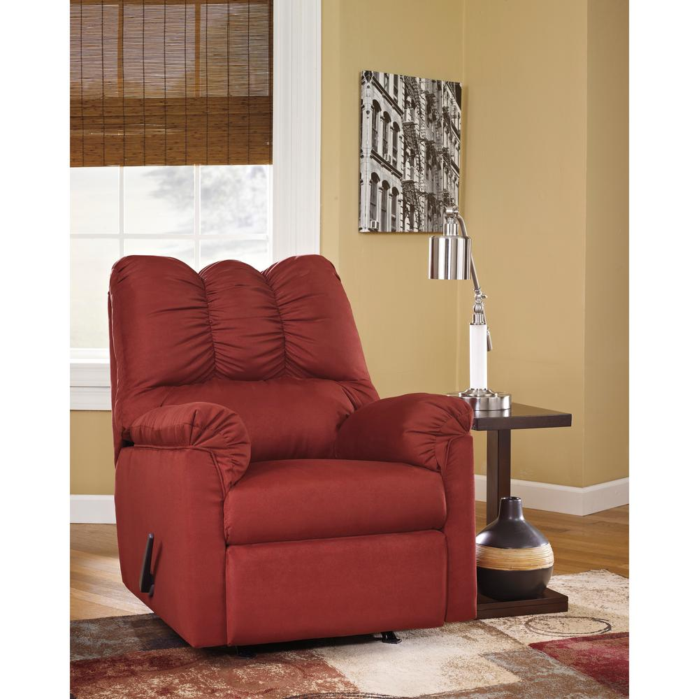 Exceptional Flash Furniture Signature Design By Ashley Darcy Salsa Fabric Rocker  Recliner