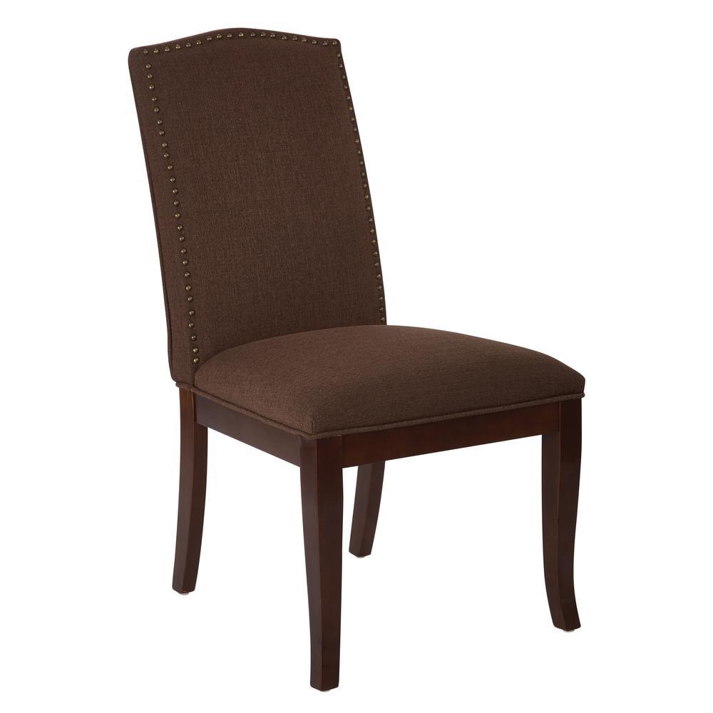 Superb Ave Six Hanson Klein Chocolate Dining Chair