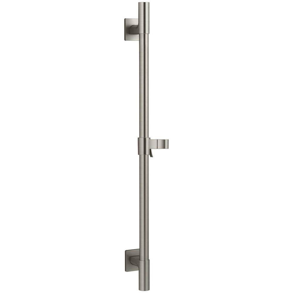 Awaken 24 in. Deluxe Slide Bar in Vibrant Brushed Nickel