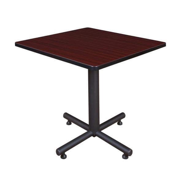 Regency Kobe Mahogany 30 in. Square Breakroom Table