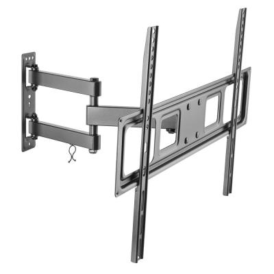 Full Motion Dual Arm TV Wall Mount for 37 in. - 70 in. Flat Panel TV's with 25 Degree Tilt, 77 lb. Load Capacity
