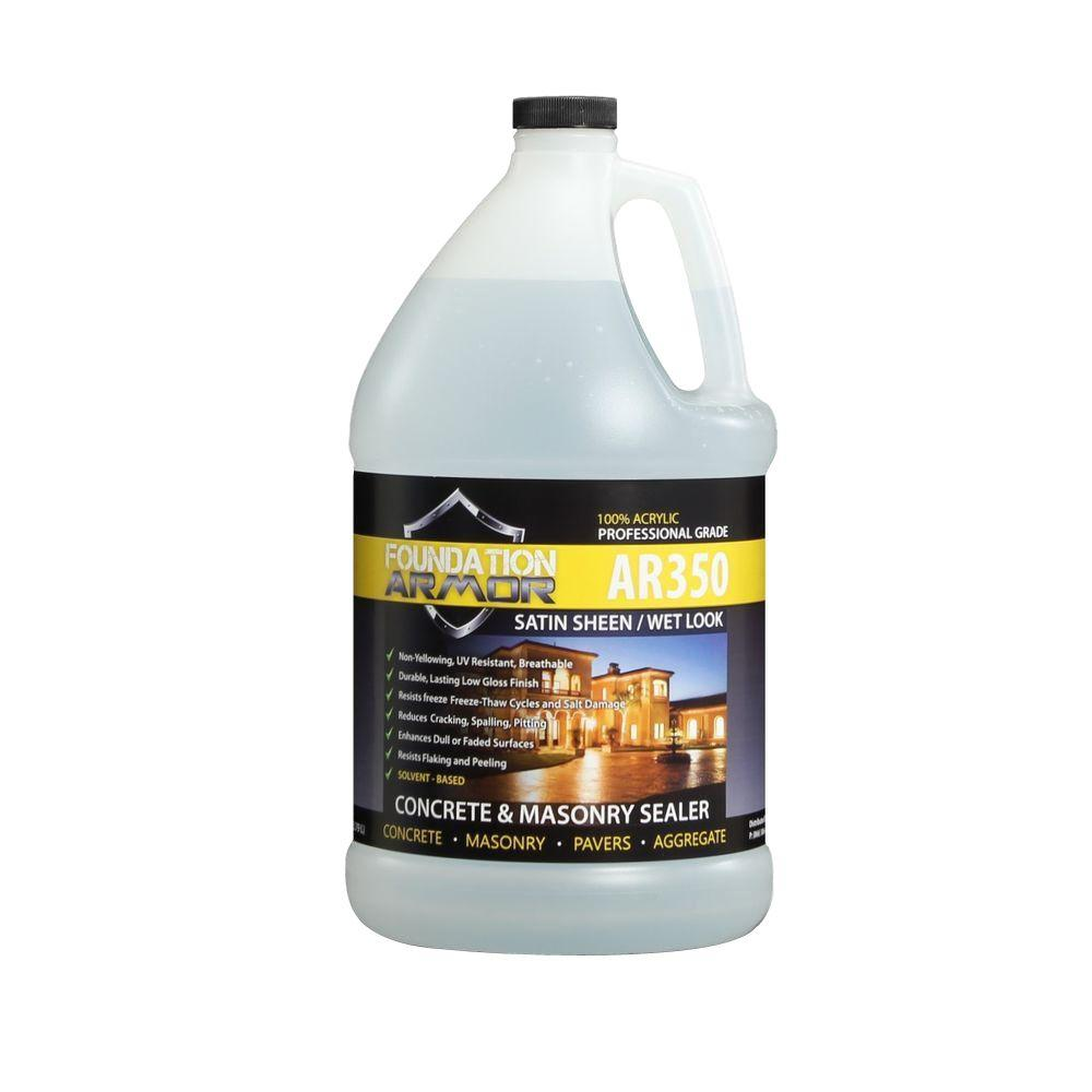 Foundation Armor Ultra Low VOC 1 gal. Wet Look Satin Sheen Acrylic Concrete, Paver and Aggregate Sealer
