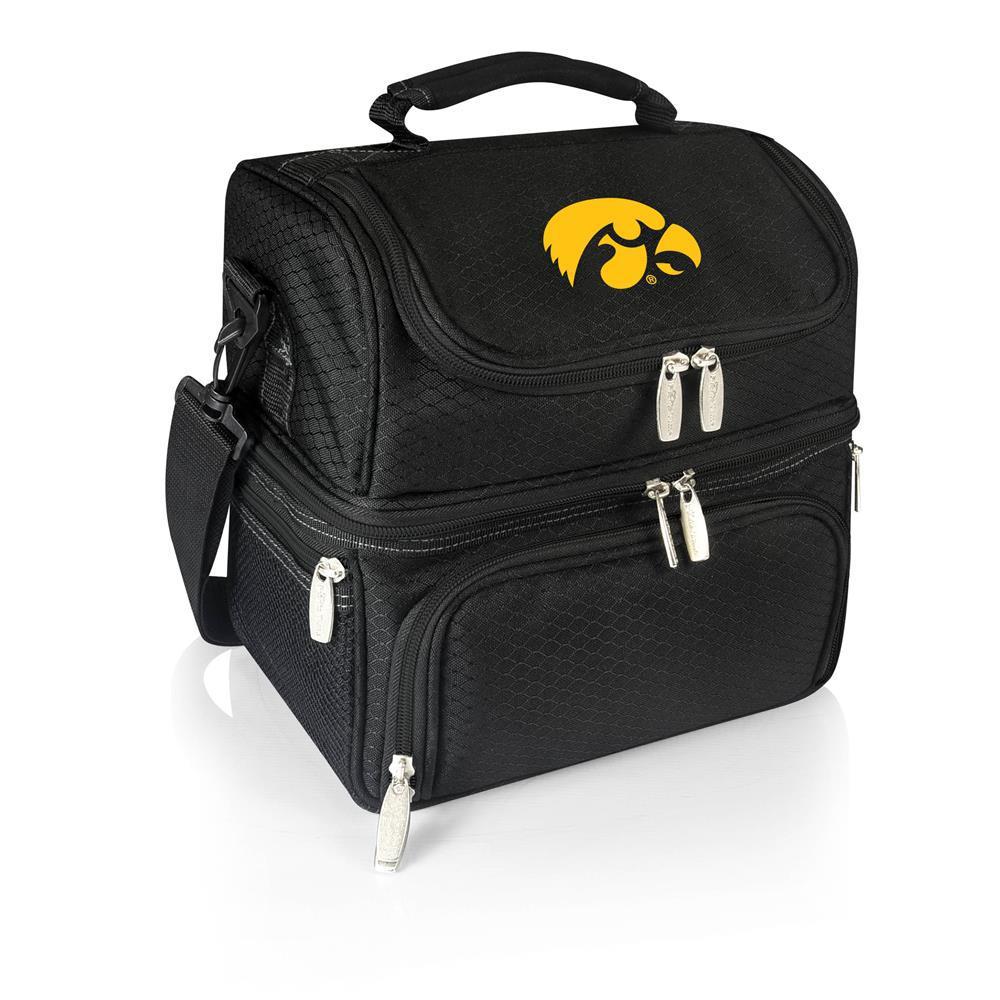 Pranzo Black Iowa Hawkeyes Lunch Bag
