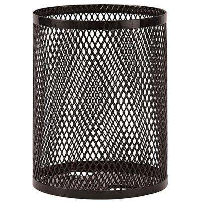 Portable 32 Gal. Black Diamond Commercial Trash Can