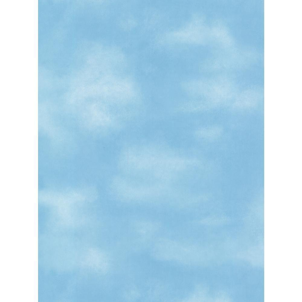 York Wallcoverings Kids Clouds Wallpaper BZ9486 The Home