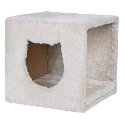 Light Gray Cuddly Cave for Shelves