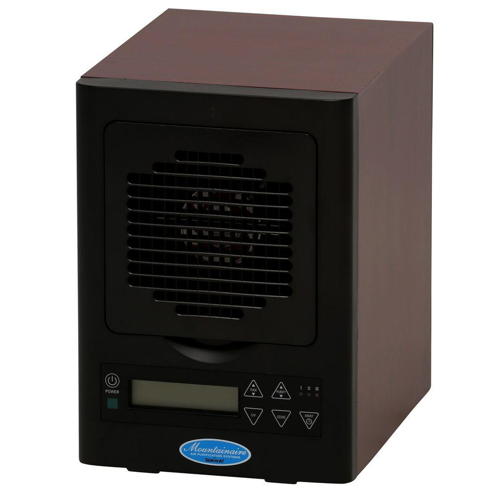 Six Stage HEPA Filter Portable Electronic Air Purifier with 20KV Ionizer