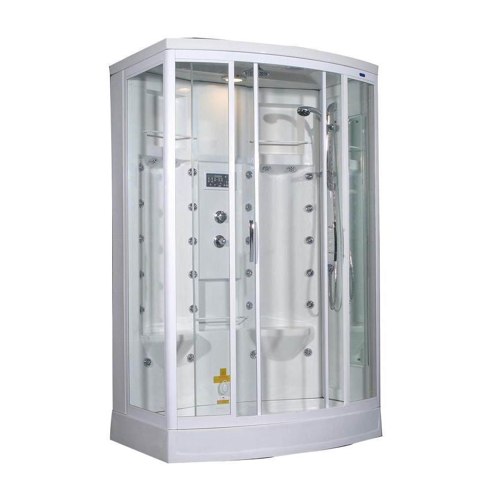 Aston ZA213 56 in x 37 in x 85 in Steam Shower Right Hand