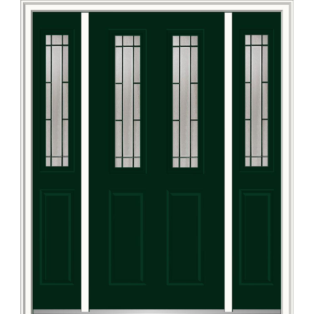 Mmi door 60 in x 80 in solstice glass right hand 2 1 2 for 12 x 60 window