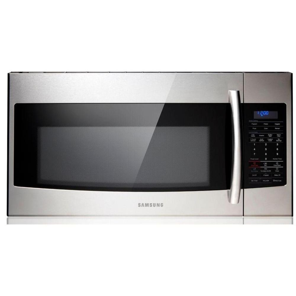 Samsung 1.9 cu. ft. Over the Range Microwave in Stainless Steel with Sensor Cooking-DISCONTINUED