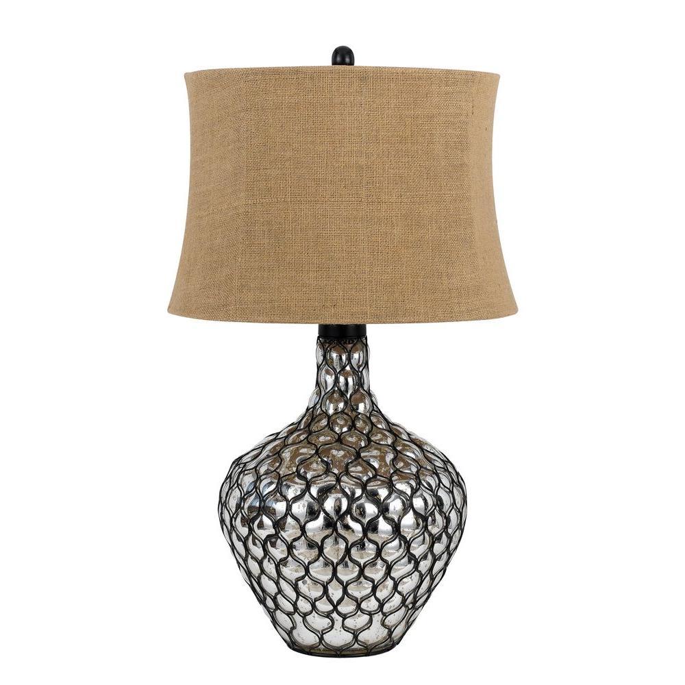 CAL Lighting 30 in. Clear Puebla Table Lamp
