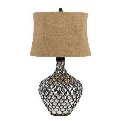 30 in. Clear Puebla Table Lamp