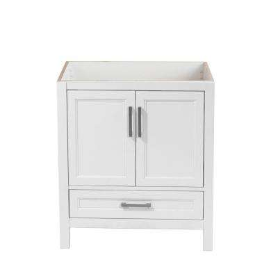 Salerno 31 in. W x 22 in. D Bath Vanity Cabinet Only in White