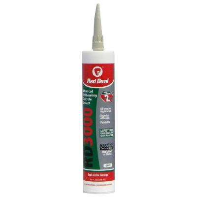 RD3000 9 oz. Gray Advanced Self-Leveling Concrete Sealant